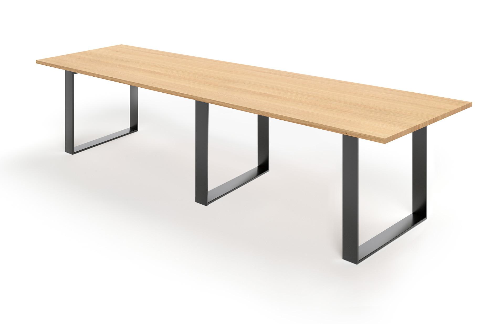 Konferenztisch Iver in Eiche bianco geölt