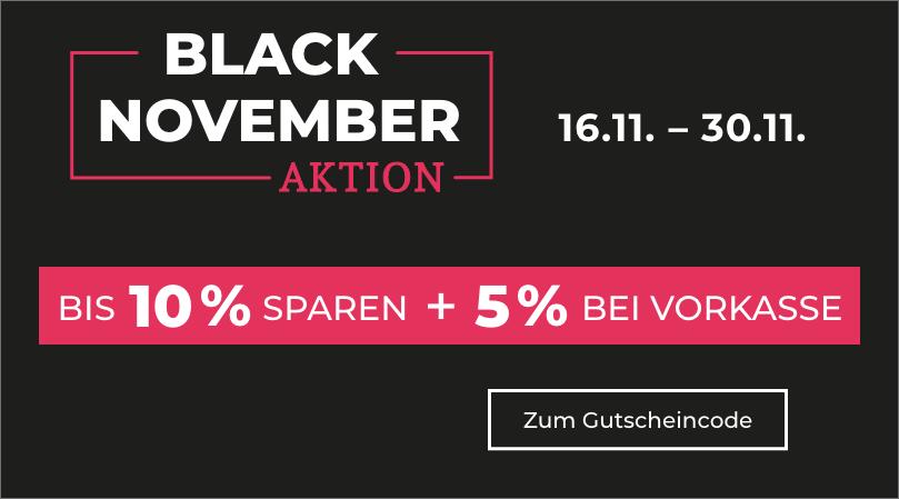 Black November nicht verpassen!