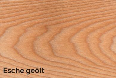 Das Eschenholz– COMANTA Esstisch
