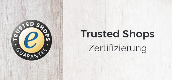 Trusted Shops Zertifizierung